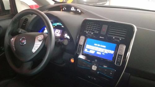 leaf 100% eléctrico 2017 para taxi - vista hermosa
