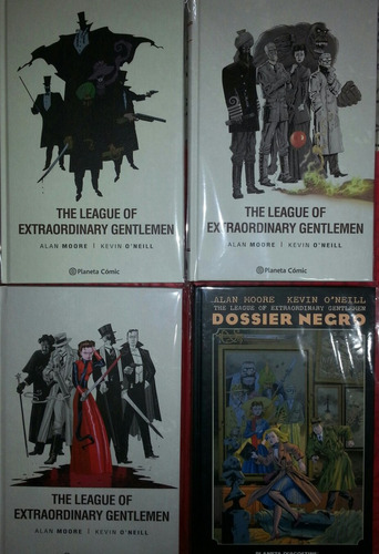 league of extraordinary gentlemen + nemo-alan moore-completo