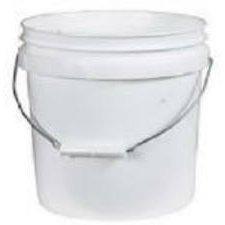leaktite  galón plástico blanco de la lata de pintura pail
