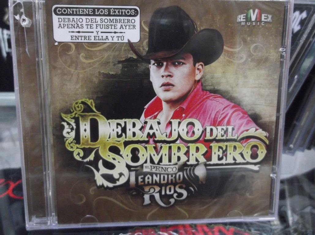 Leandro Rios Debajo Del Sombrero Cd Nuevo -   129.00 en Mercado Libre 8a23109e210