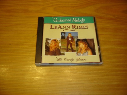 leann rimes unchained melody cd importado pop