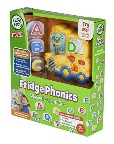 leapfrog fridge phonics juego de letras magnéticas