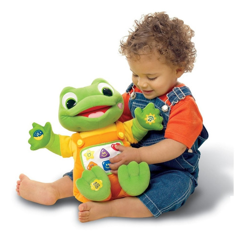 leapfrog hug & learn baby tad felpa