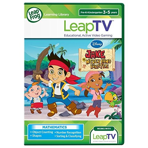 leapfrog leaptv disney jake y el nunca land pirates videoju