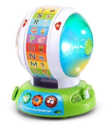 leapfrog spin \u0026 sing alphabet zoo envío gratis!!