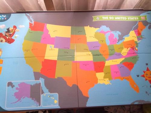 leapster leapfrog mapa estados unidos para lapiz tag