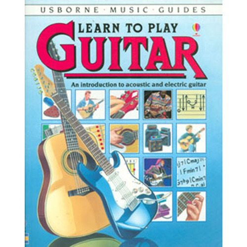 learn to play guitar. an introduction to acoustic and electr