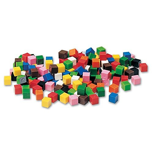 learning resources centimeter cubes, juego de 1000