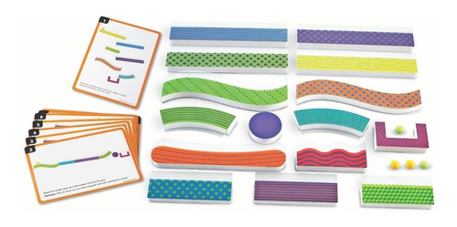 learning resources - tumble trax magnetic marble run
