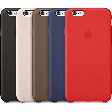 Funda Leather Case para el iPhone SE - iShop