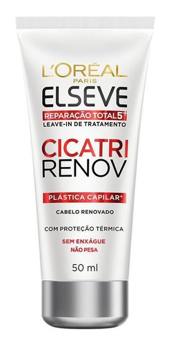 leave in reparador elseve cicatri renov 50ml