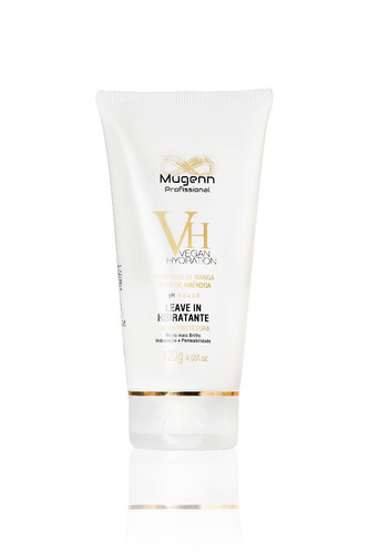 leave-in vegano mugenn cosméticos vegan hydration - 120g