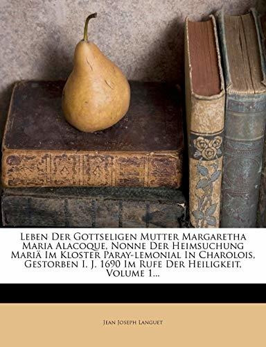 leben der gottseligen mutter margaretha maria alacoque, non