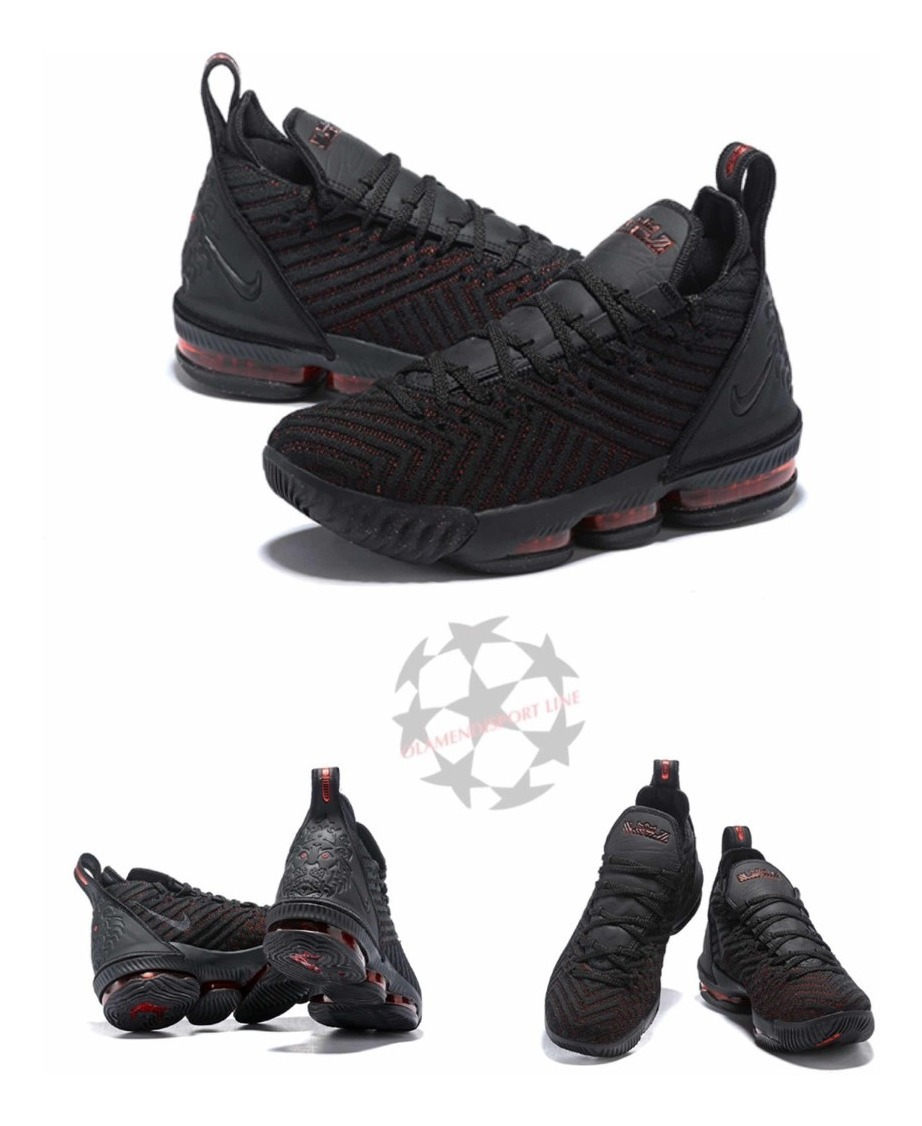 check out 04fd1 ee205 Lebron 16 fresh Bred Black Red