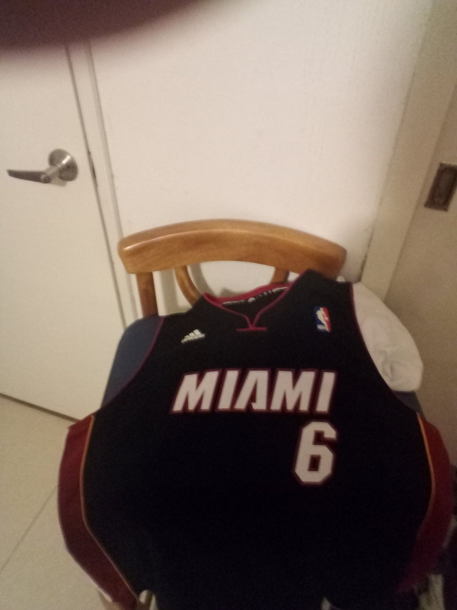 best service 80ca8 c097c Lebron James Jersey Miami Heat