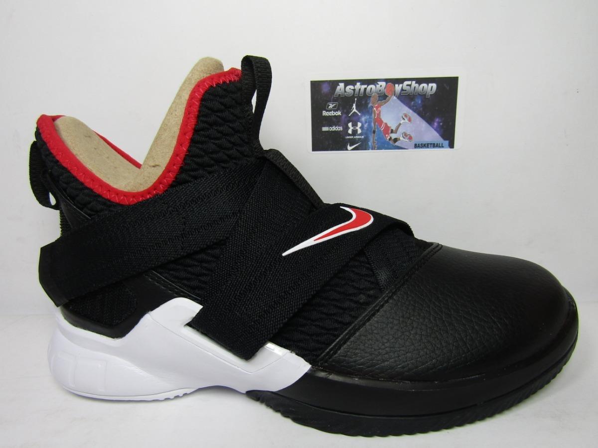 separation shoes 62e0f 737b1 Lebron Soldier 12 Bred Gs Kids En Caja (24 Mex) Astroboyshop