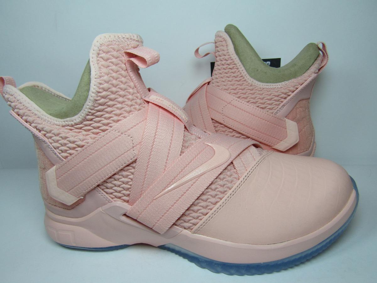 online store fc9fe baf81 Lebron Soldier 12 Soft Pink Edition (28 Mex) Astroboyshop