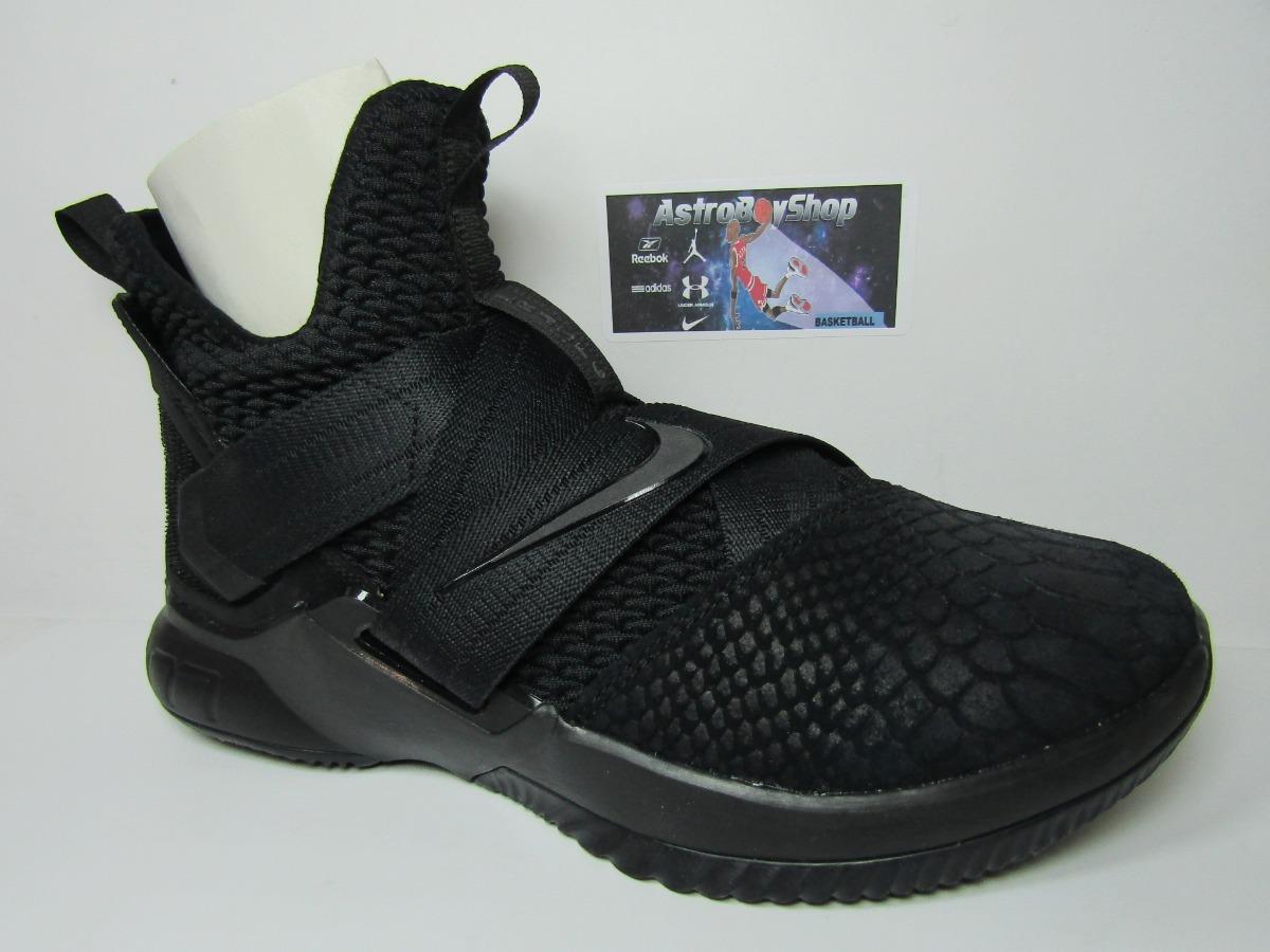 separation shoes 59b4d 297fc Lebron Soldier 12 Triple Black Ed (27 Mex) Astroboyshop