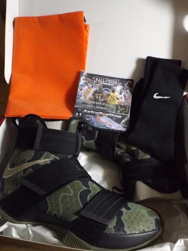 lebron soldier x camo en caja (31 mex) astroboyshop