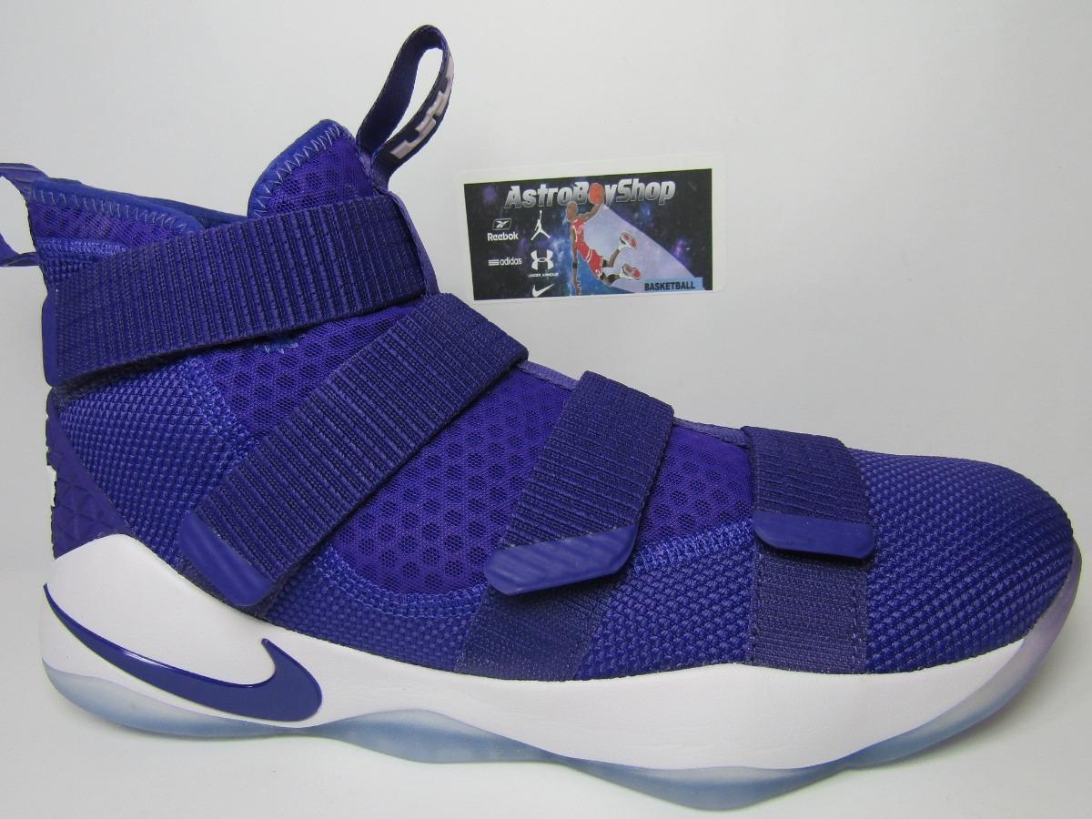 designer fashion de274 6966e Lebron Soldier Xi Court Purple Edition (28 Mex) Astroboyshop