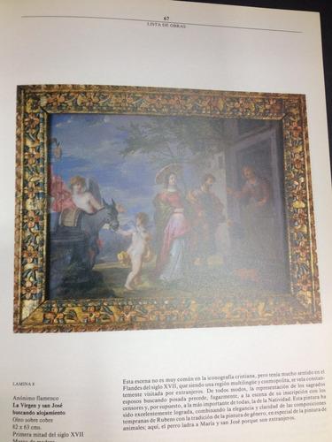 lecciones barrocas , pinturas sobre la vida de la virgen.