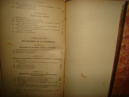 lecciones de aritmética - arturo a. lamadrid - 1913
