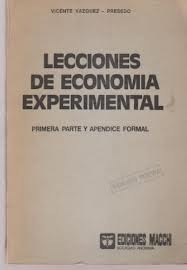 lecciones de economia experimental- vazquez vicente