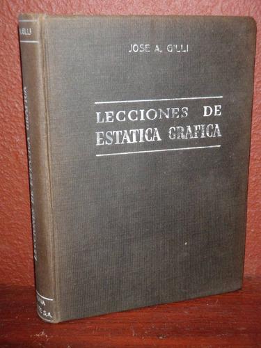 lecciones de estática gráfica josé gilli hachette 1944