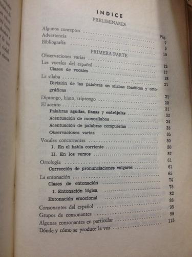 lecciones de pronunciacion - luis florez - bogota - 1971