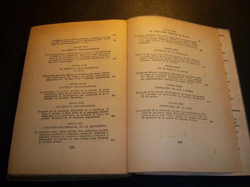 lecciones preliminares de filosofía . manuel garcía morente