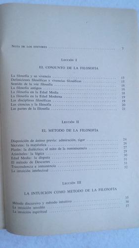 lecciones preliminares de filosofía / manuel garcía morente