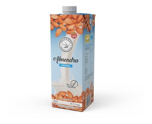 leche de almendras tratenfu sabor original x8 unidades