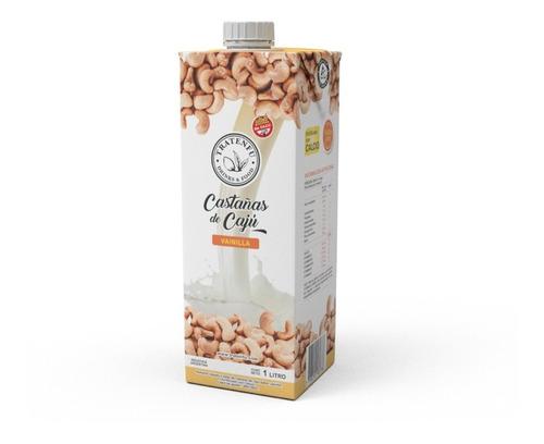 leche de castañas de caju tratenfu (original, vainilla) x8 u