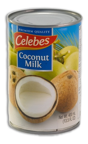 leche de coco 400 ml celebes