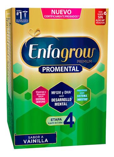 leche de crecimiento enfagrow etapa 4 caja 1.1kg vainilla