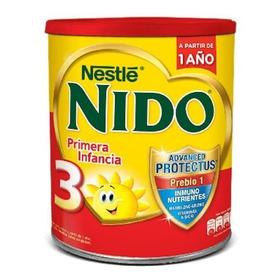 Leche De Fórmula En Polvo Nestlé Nido 3 En Lata De 800g