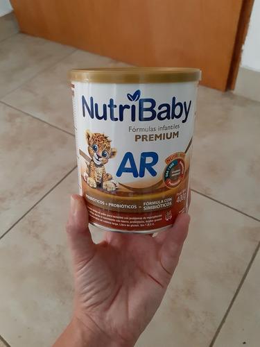 leche en polvo maternizada nutribaby ar (antireflujo) x10 u.
