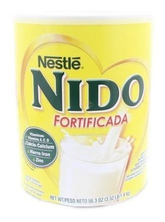 leche en polvo nido fortificada 1.8 kgs + tienda física las