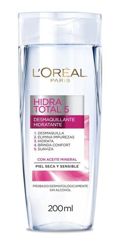 leche limpiadora desmaquillante piel sensible loréal paris