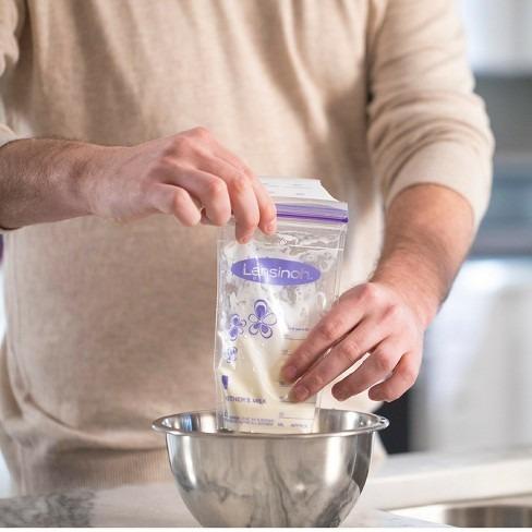 leche materna bolsas