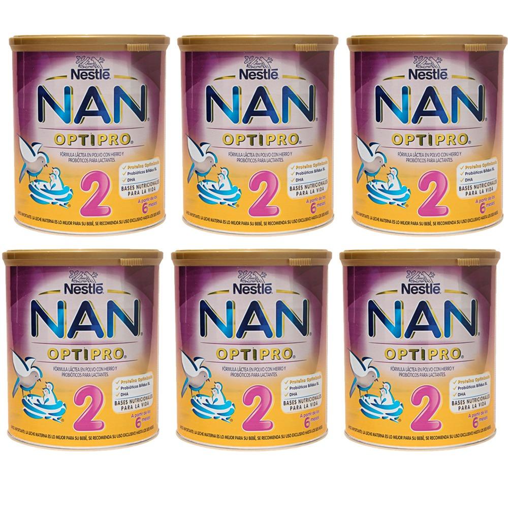 leche nan optipro 2 nestle bebés de 6 12 meses 6 x 900g. Cargando zoom. 70c04191612c3