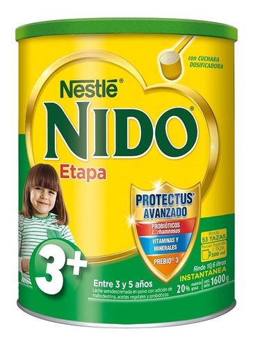 leche nido 3 + protectus® 1600g tarro