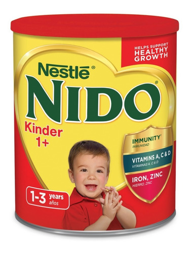leche nido kinder 2.2 kg de 1 a 3 años