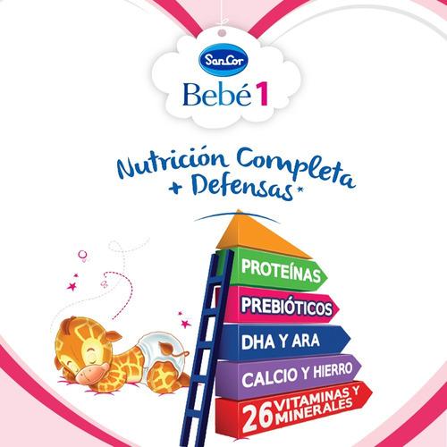 leche sancor bebe 1 (0 a 6m) nut. comp. 200ml x 90 unidades