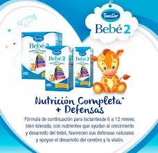 leche sancor bebe 2 (6 a 12 m) nutricion completa 12 x 500ml