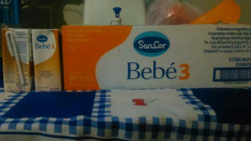 leche sancor bebé 3