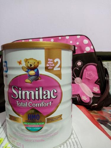 leche similac total comfort etapa 2 de de 820 gramos cellada