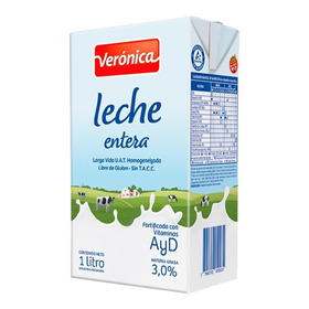 Leche Veronica Entera X 1 Lt.
