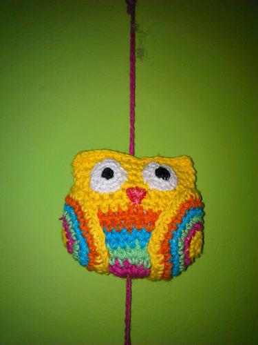 lechuzas tejidas al crochet