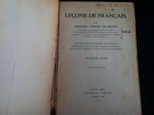 leçons de français 2 germaine cadours de bignon p7